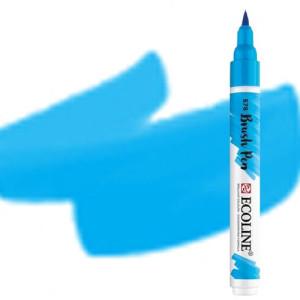 totenart-Rotulador Acuarela Ecoline Brush Pen Azul Celeste