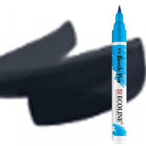 totenart-Rotulador Acuarela Ecoline Brush Pen Negro
