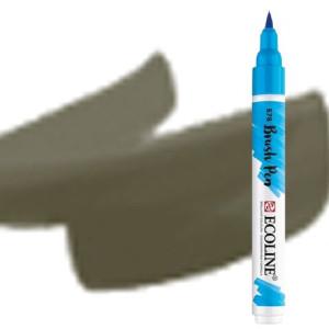 totenart-Rotulador Acuarela Ecoline Brush Pen Gris Cálido