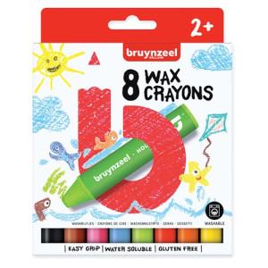 Crayons Case Bruynzeel, 8 colors