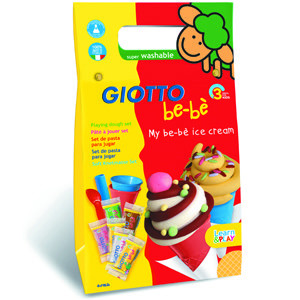 Giotto Be-Bè Playing dough set, Ice-Cream