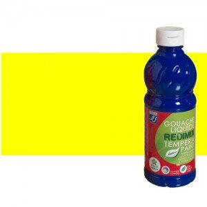 totenart-gouache-liquido-color-co-Lefranc-153-amarillo-primario-bote-500-ml