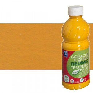 totenart-gouache-liquido-color-co-Lefranc-302-ocre-amarillo-bote-1-litro