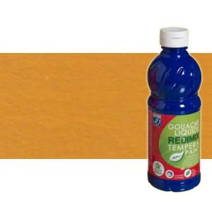 totenart-gouache-liquido-color-co-Lefranc-302-ocre-amarillo-bote-500-ml