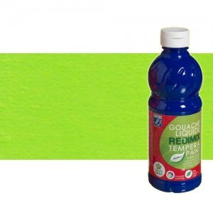 totenart-gouache-liquido-color-co-Lefranc-556-verde-claro-bote-500-ml
