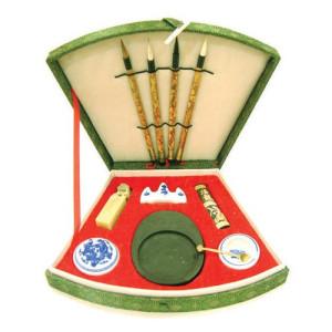 Totenart-Estuche escritura china 11 piezas.