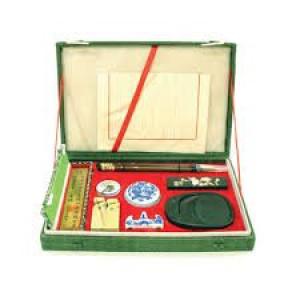 Totenart-Estuche lujo escritura china 10 piezas.