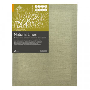 Natural Linen Canvas (20x30 cm)