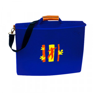 Multipurpose canvas holder suitcase for artist, 48x40 cm.