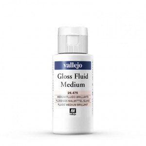 Gloss Fluid Medium Vallejo, 60 ml.