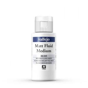 Matt Fluid Medium Vallejo, 60 ml.