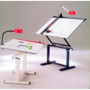 Professional drawing table with frame, 130x90 cm.