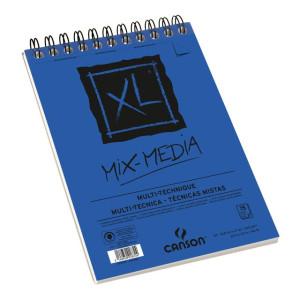 XL Mix Media Canson 300 gr, 21x29.7, Medium texture, block 30 s.