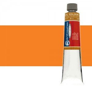 Totenart. Óleo ArtCreation color Anaranjado (200 ml)