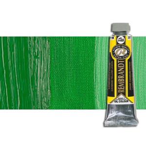 Óleo Rembrandt color Verde Permanente Medio (40 ml.)