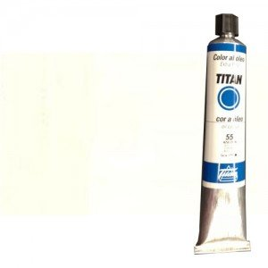 Oil Titan Extra Fine, Titanium White, 200 ml.