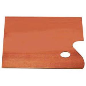 totenart-Paleta rectangular de madera barnizada Talens, 25x35 cm.