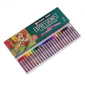 totenart-Caja pastel al Oleo Sakura Expressionist, 25 colores