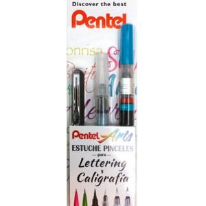 Fine Arts calligraphy set 3 pieces Pentel