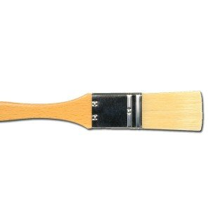 Totenart. Paletina Art de pelo de cerda de mango largo (nº 02)