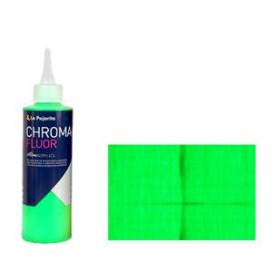 Acrylic La Pajarita Green Chroma Fluor (200 ml.)