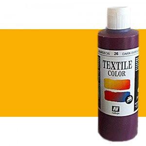totenart-Pintura Textil Vallejo Ocre, 200 ml.