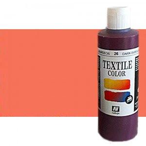 totenart-Pintura Textil Vallejo Rosa Metal, 200 ml.
