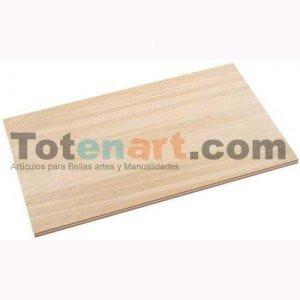 totenart-Plancha Contrachapado,  5 mm. 73x60 cm.  - PROMOCION CURSO BBAA 25