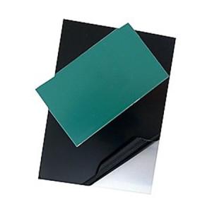 totenart-Plancha de Zinc Pulida protegida y esmaltada, 50x50 (1,6)