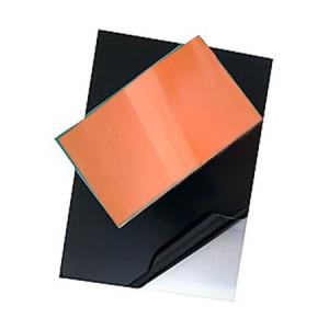 totenart-Plancha de Zinc Pulida EXTRA protegida y esmaltada, 16.5x25 (1,6