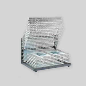 Totenart-Rack de secado, 50x70, 15 bandejas.