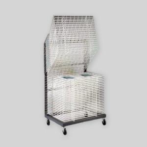 Totenart-Rack de secado, 100x140, 50 bandejas, abierto.