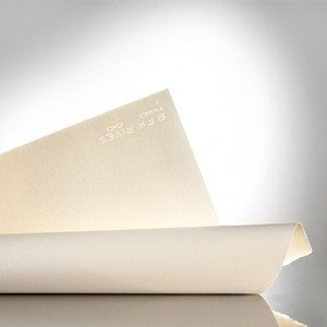 Roll paper for engraving Arches BFK Rives 300 gr., 106,7x914 cm., White, Fine Gr.