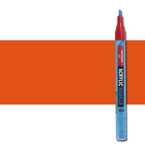 totenart-Rotulador acrilico Amsterdam color Bermellon 311 (2 mm.)