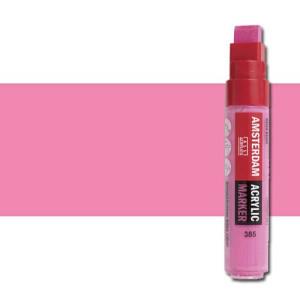 Totenart. Rotulador acrilico Amsterdam color Rosa Quinacridona Claro 385 (15mm.)