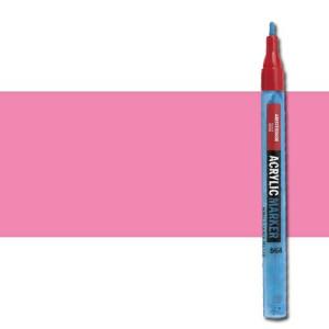 totenart-Rotulador acrilico Amsterdam color Rosa Quinacridona Claro 385 (2 mm.)