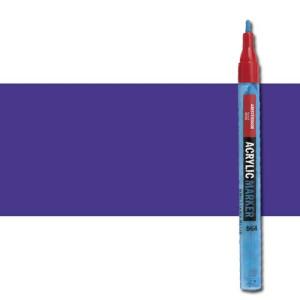 totenart-Rotulador acrilico Amsterdam color Azul Ultramar Violeta 507 (2 mm.)