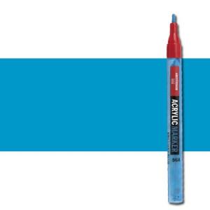 totenart-Rotulador acrilico Amsterdam color Cian Primario 572 (2 mm.)