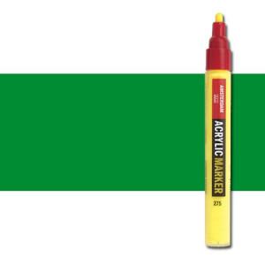 totenart-Rotulador acrilico Amsterdam color Verde Permanente Claro 618 (4 mm.)