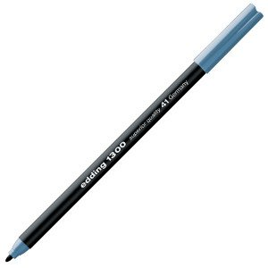 Totenart-Rotulador Edding 1300 Gris azulado 41, punta fina 2 mm.