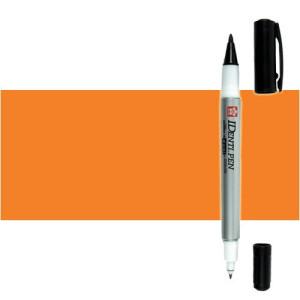 Totenart. Rotulador IDenti pen Sakura Naranja 2 puntas