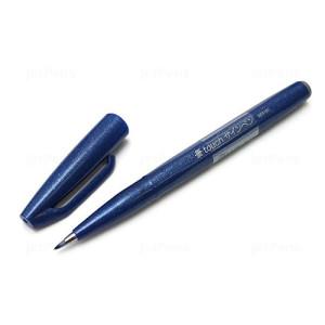Sign Pen Brush Pentel Touch, Blue