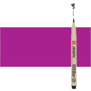 Totenart. Rotulador Morado Pigma Brush Sakura