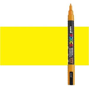 Totenart. Rotulador Posca Amarillo (1100) PC3M, punta redonda (0.9-1.3 mm.)