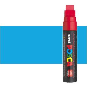 Totenart. Rotulador Posca Azul claro (320) PC17K, punta biselada (15 mm.)