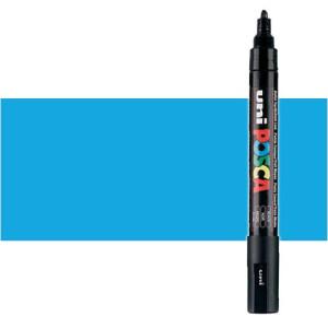 Totenart. Rotulador Posca Azul claro (320) PC5M, punta redonda (1.8-2.5 mm.)