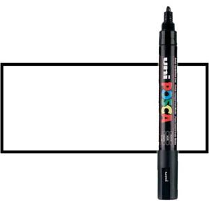 Totenart. Rotulador Posca Blanco (1400) PC5M, punta redonda (1.8-2.5 mm.)