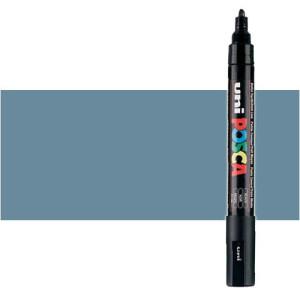 Totenart. Rotulador Posca Gris pizarra (1510) PC5M, punta redonda (1.8-2.5 mm.)