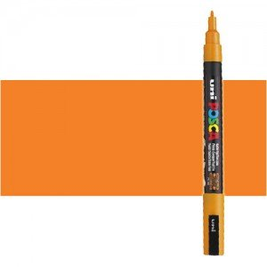 Totenart. Rotulador Posca Naranja (700) PC3M, punta redonda (0.9-1.3 mm.)
