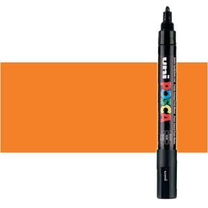 Totenart. Rotulador Posca Naranja (700) PC5M, punta redonda (1.8-2.5 mm.)